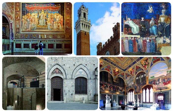 Collage foto musei civici